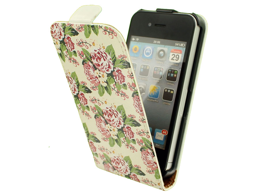 Call Candy Floral Flip Case - Hoesje voor iPhone 4/4S