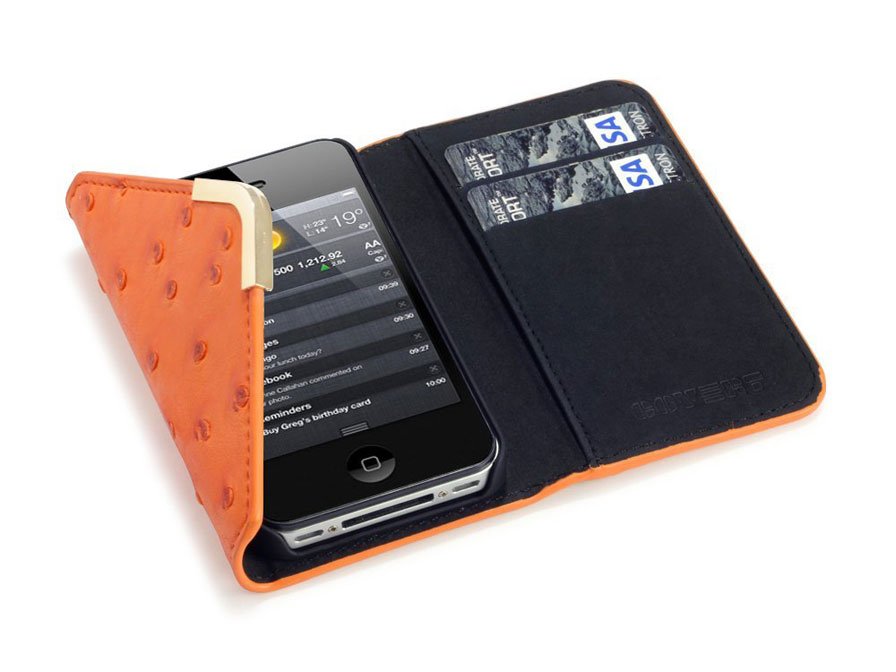 C by Covert Suki - Wallet Case Hoesje voor iPhone 4/4S