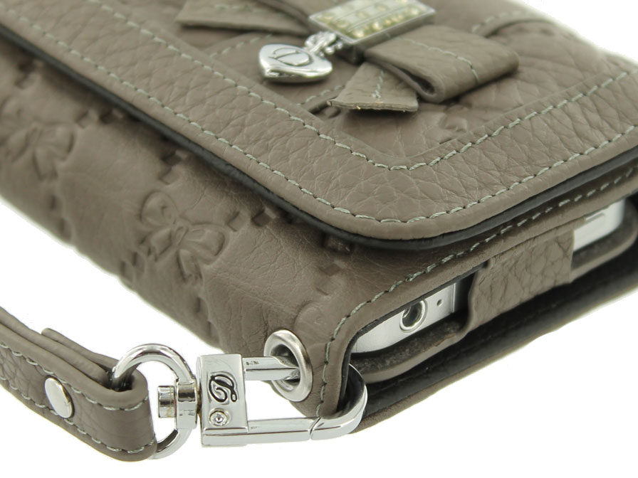 DiCase Trifold Wallet Case - Hoesje voor iPhone 4/4S