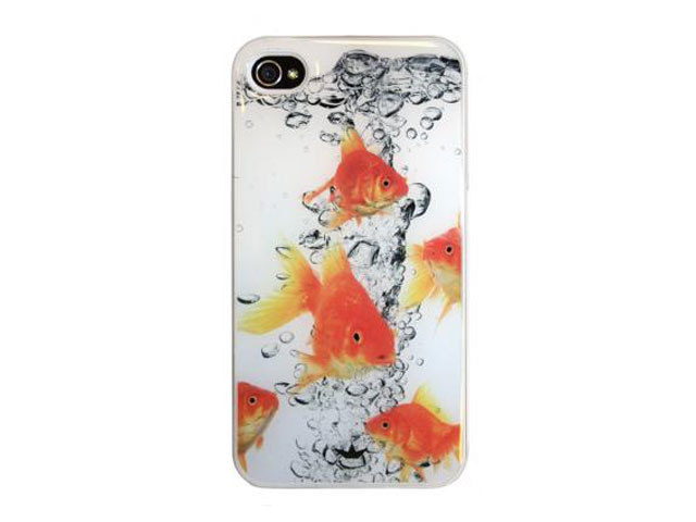 Dresz Fishbowl Hard Case Hoes Cover iPhone 4/4S