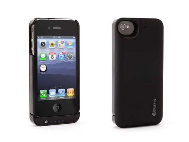 Griffin Reserve Power Convertible Case 1450mAh Accu voor iPhone 4/4S