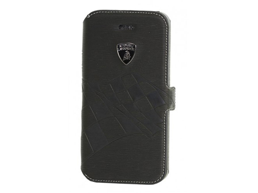 Lamborghini Ultra Slim Book Case - Hoesje voor iPhone 4/4S