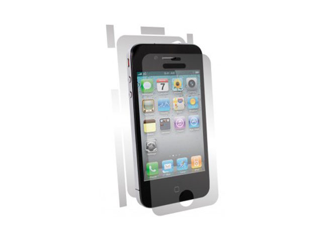 BodyGuardz UltraTough Full Body Gel Protector voor iPhone 4/4S