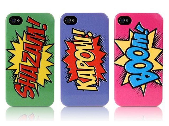CaseBoutique Strip Kreten Metal Case Hoesje voor iPhone 4/4S