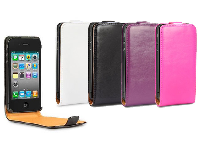 CaseBoutique Slimline Bottomflip Case Hoesje voor iPhone 4/4S