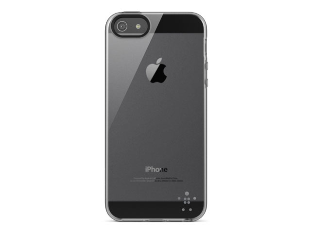 Belkin Grip Sheer TPU Case Hoesje voor iPhone 5/5S