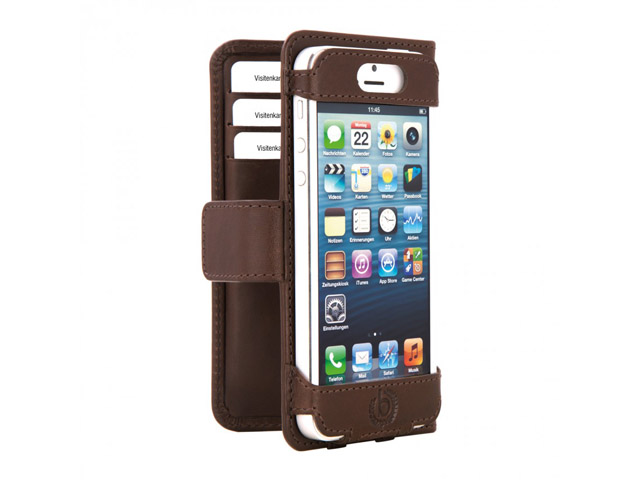 Bugatti Open BookCase Hoesje voor iPhone 5/5S