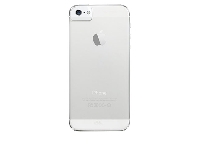 Case-Mate Barely There Crystal Case voor iPhone 5/5S