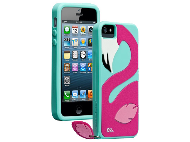 Case-Mate Creatures Pinky Silicone Skin Case voor iPhone 5/5S