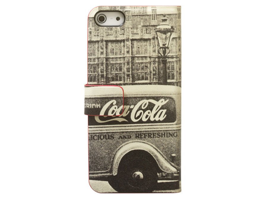 Coca-Cola City Cab Book Case Hoesje voor iPhone 5/5S