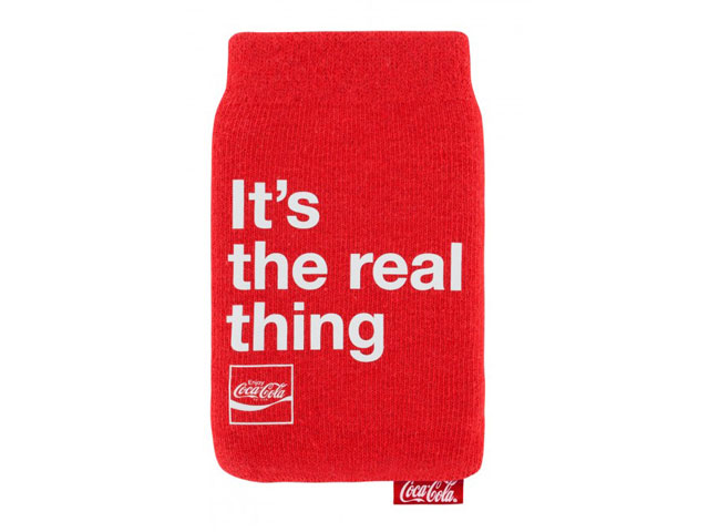 Coca-Cola Mobile Protective Sock Sleeve
