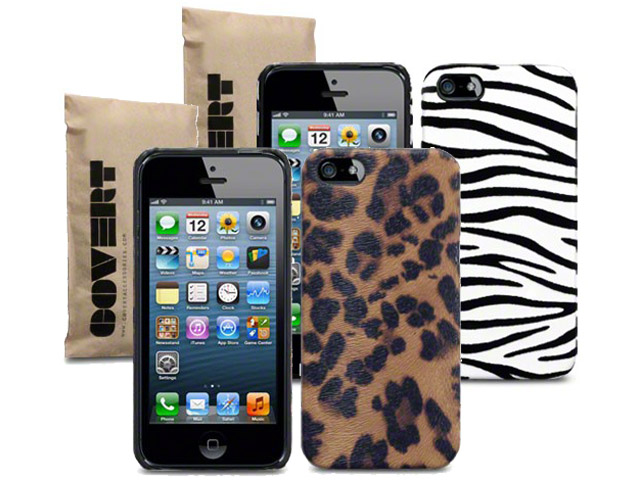 Covert Safari Back Case Hoesje voor iPhone 5/5S