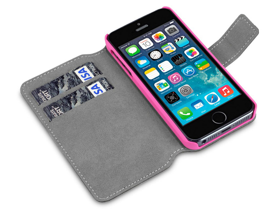 Covert UltraSlim Bookcase - iPhone SE / 5s / 5 hoesje