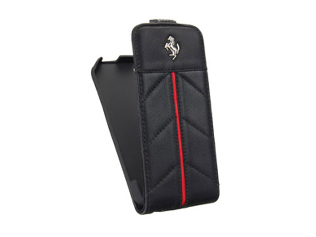 Ferrari California Series Exec Leren Flip Case voor iPhone 5/5S