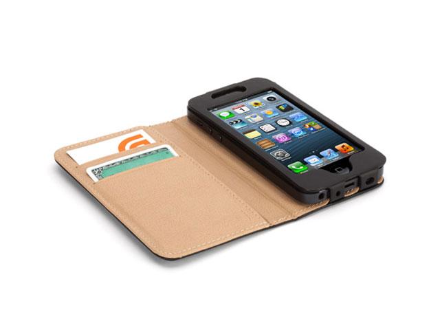 Griffin Midtown Passport Case - iPhone SE/5s/5 hoesje Zwart