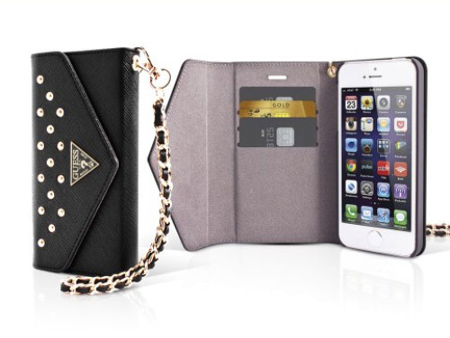Guess Studded Clutch Case - iPhone 5/5S Hoesje (EOL)