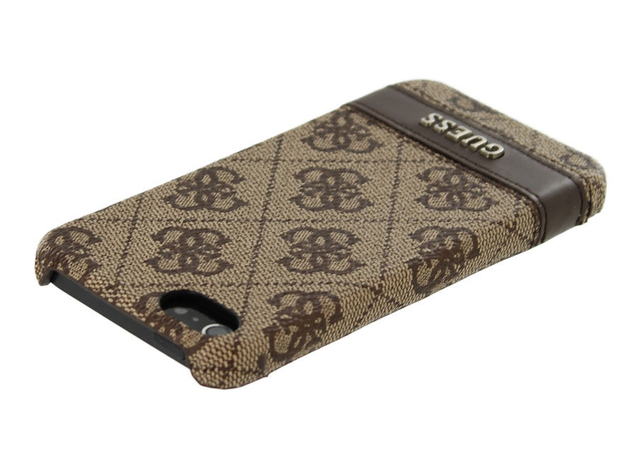 Guess Monogram Hard Case - iPhone SE / 5s / 5 hoesje