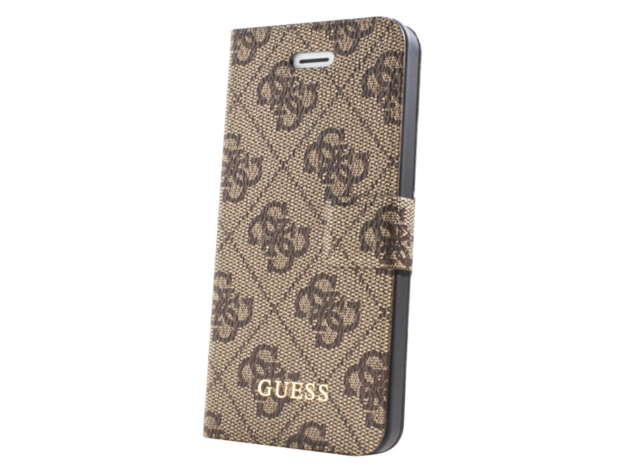 Guess Monogram Bookcase - iPhone SE / 5s / 5 hoesje