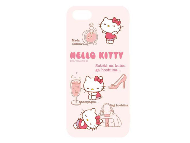 Hello Kitty Hard Case - iPhone SE / 5s / 5 hoesje (C)