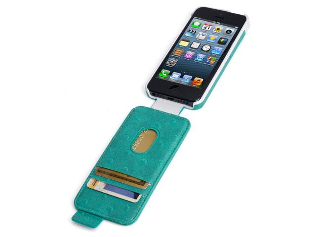 Kensington Portafolio Ostrich Flip Case voor iPhone 5/5S