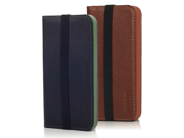 Knomo Leather Folio Case - iPhone SE / 5s / 5 hoesje