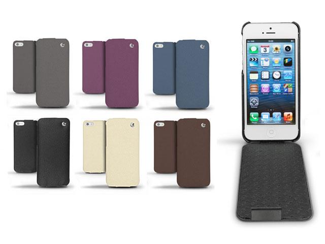 Noreve Ambition Leren Case - iPhone SE/5s/5 hoesje Bruin