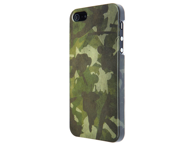 Skillfwd camo army hard case hoesje voor iphone 5 5s for Telephone leger