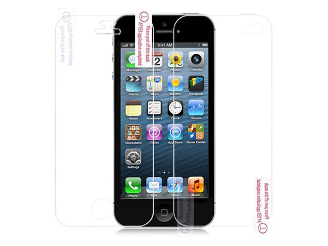 iPhone SE/5S/5 Bodyprotector (Voor + Achter) Transparant