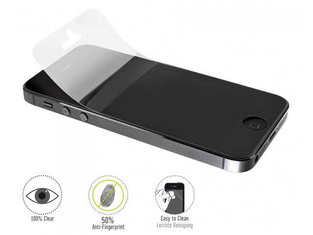 Artwizz ScratchStopper Anti-Fingerprint Clear voor iPhone 5/5S/5S