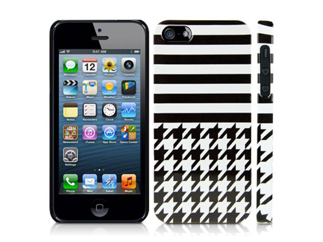 CaseBoutique Houndstooth Case - iPhone SE / 5s / 5 hoesje