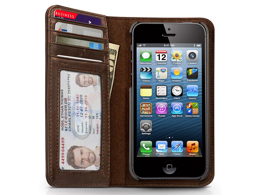 Telephone hoesjes iphone 5 wallet case