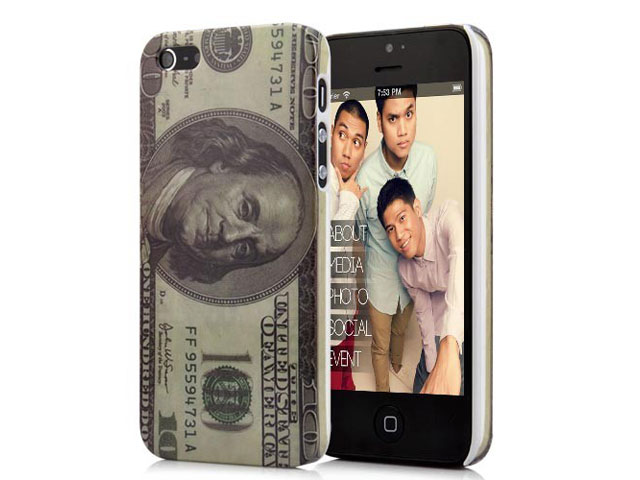 100 Dollar Bill Case Hoesje voor iPhone 5/5S