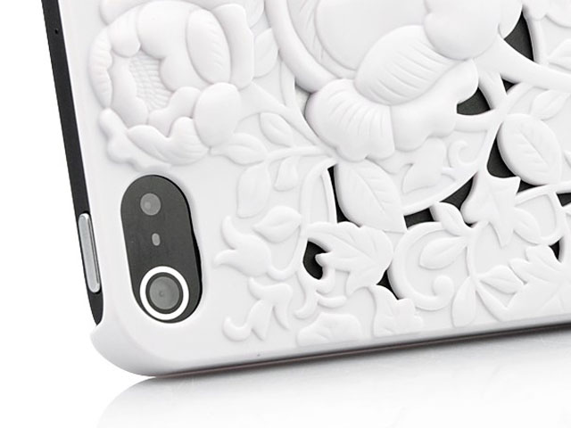 3D Flower Case - iPhone 5 / 5S / SE hoesje