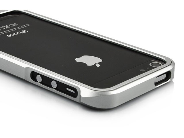 Aluminium Metal Slider Bumper Case voor iPhone 5/5S