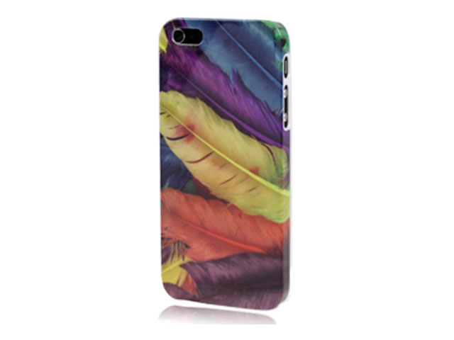 Colorful Feathers Case - iPhone SE / 5s / 5 hoesje
