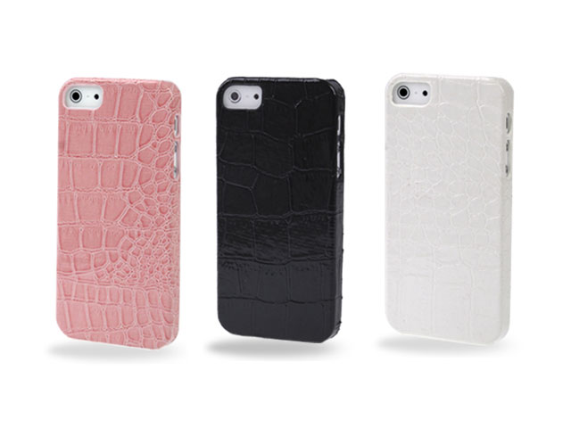 Croco Back Case Hoesje voor iPhone 5/5S