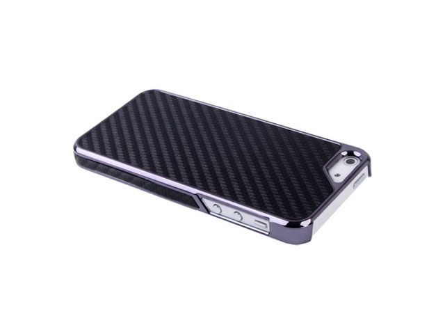 Carbon Back Case - iPhone SE / 5s / 5 hoesje