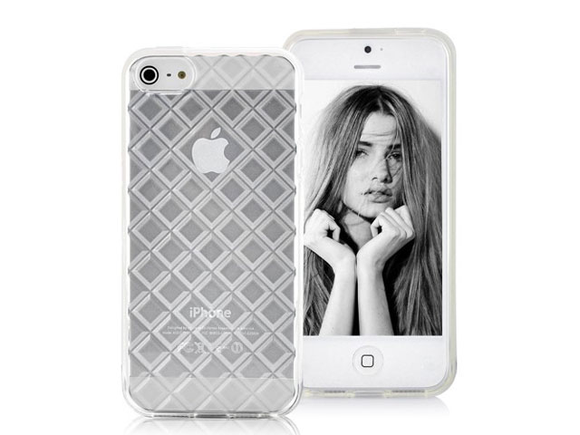 Diamond TPU Soft Case Hoesje voor iPhone 5/5S