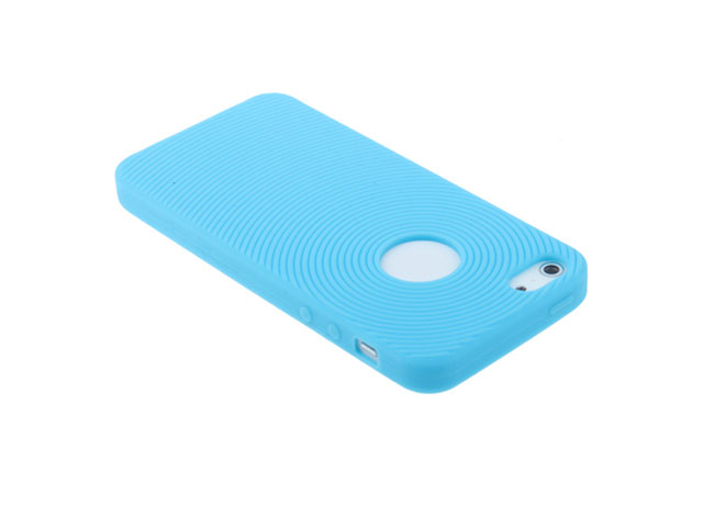 Fingerprint Silicone Skin - iPhone SE / 5s / 5 hoesje