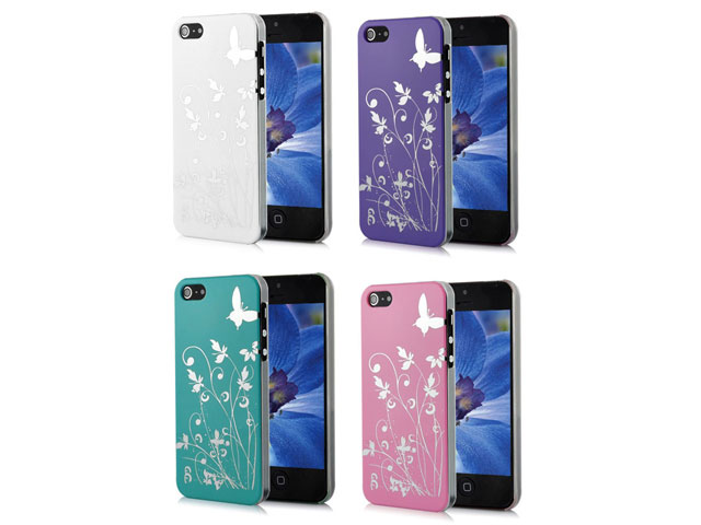 Butterflies Back Case - iPhone SE / 5s / 5 hoesje