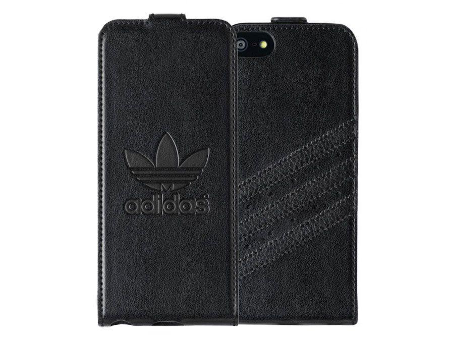 adidas Originals Full Black Flip Case - Hoesje voor iPhone 5C