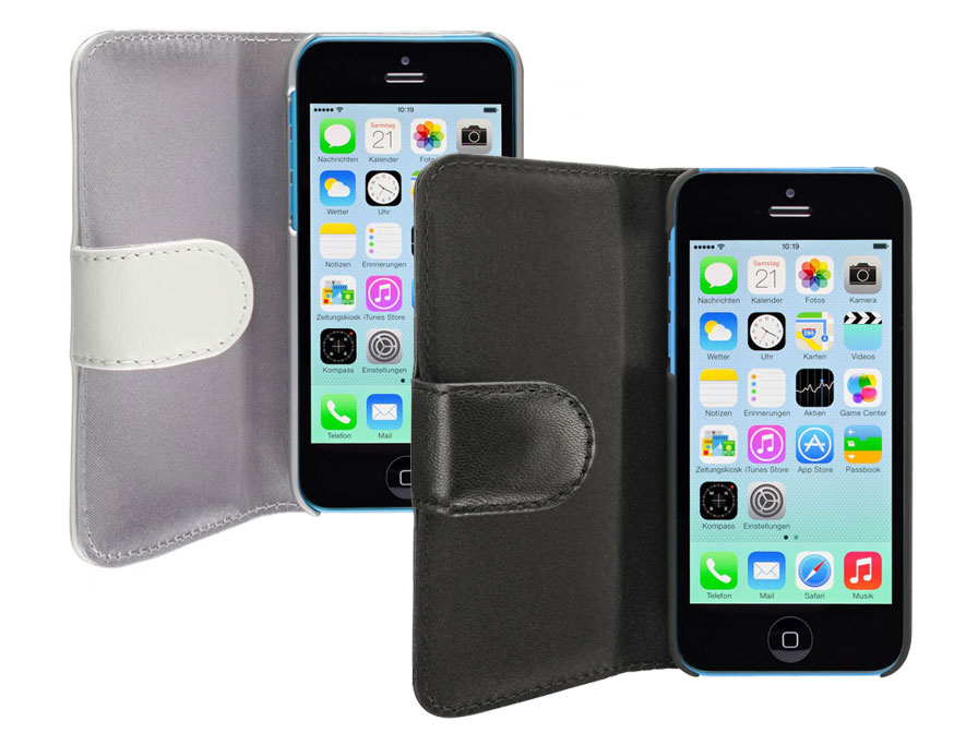 Artwizz Seejacket Leather Case Hoes voor iPhone 5C