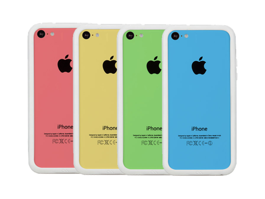 Case-Mate Hula Transparante Bumper voor iPhone 5C