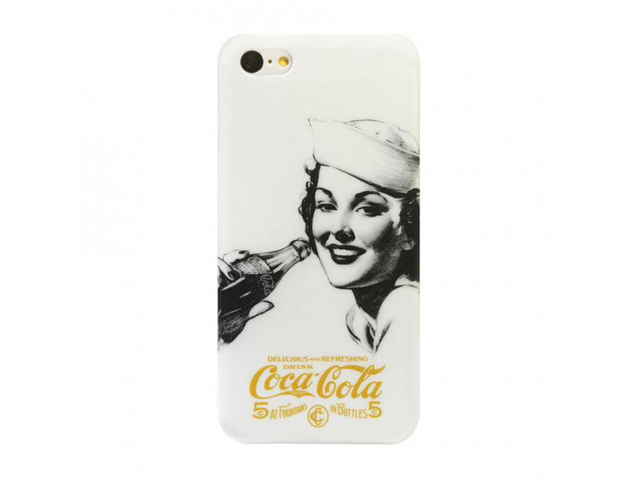 Coca-Cola Golden Beauty Case Hoesje voor iPhone 5C