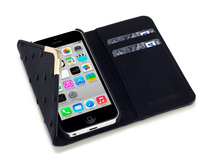 C by Covert Suki - Wallet Case Hoesje voor iPhone 5C