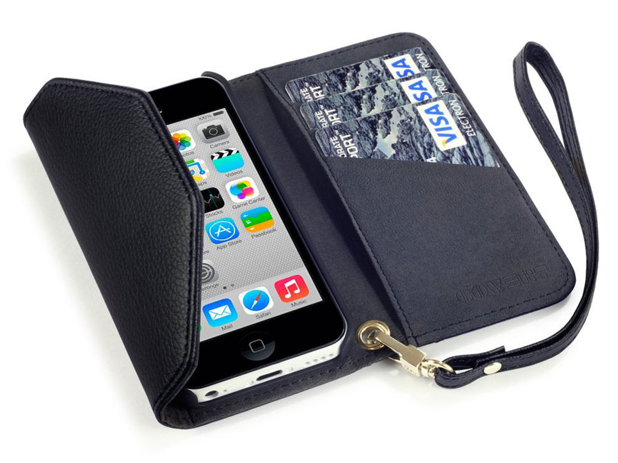 Covert Trifold Purse Wallet Case voor iPhone 5C