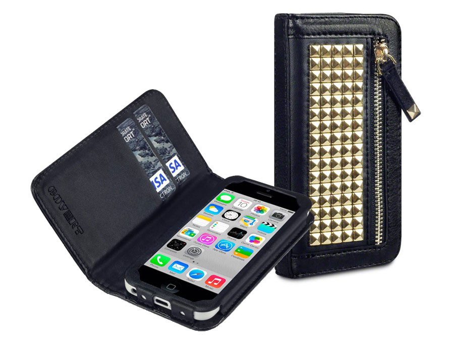 Covert Roxie Studded Wallet Case Hoesje voor iPhone 5C