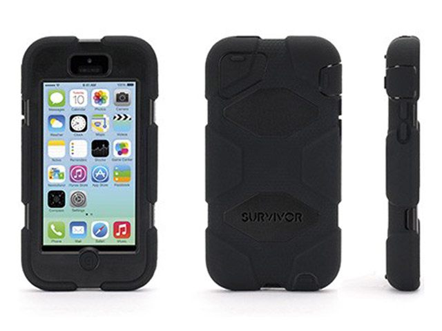 Griffin Survivor Armored Military Grade Case voor iPhone 5C
