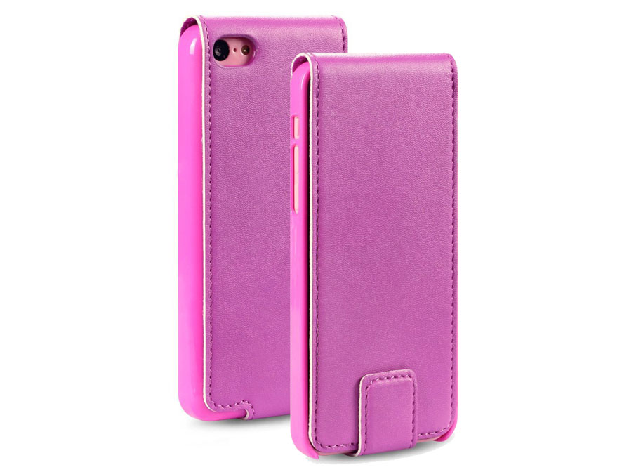 CaseBoutique UltraSlim Topflip Case Hoesje voor iPhone 5C