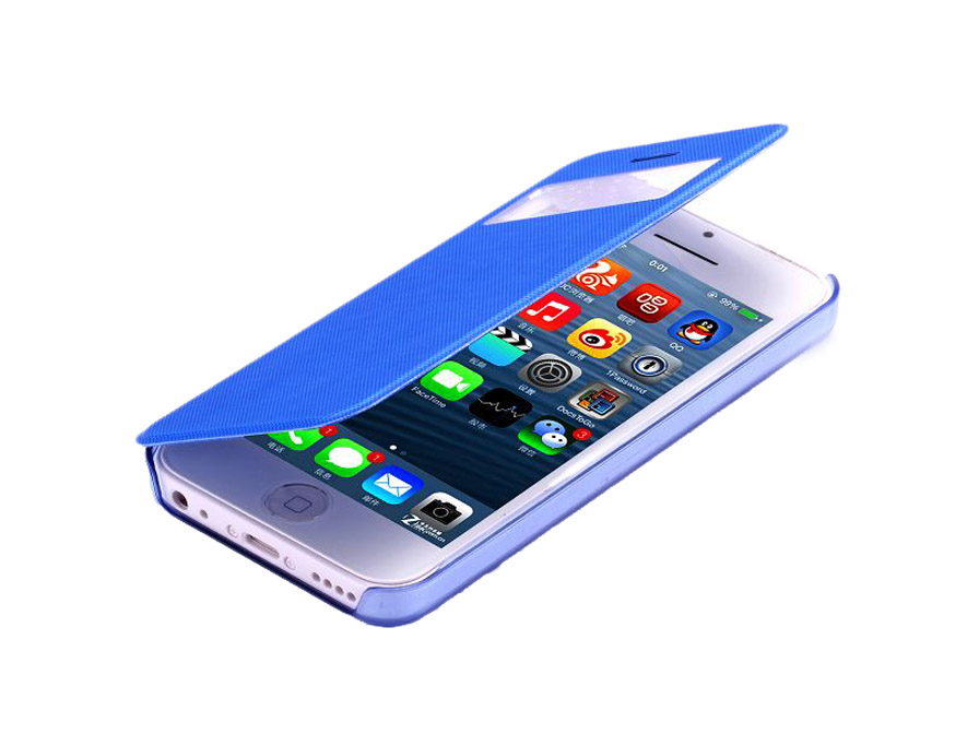 Color View Sideflip Case Hoesje voor iPhone 5C